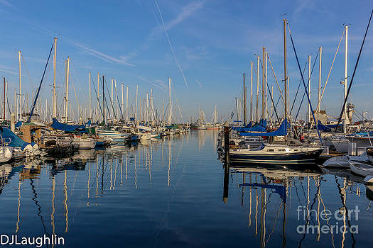 Santa Barbara Harbor by DJ Laughlin