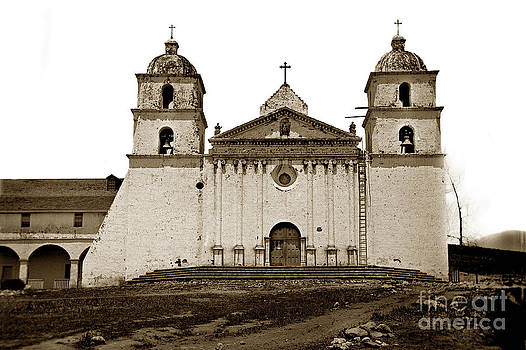 California Views Mr Pat Hathaway Archives - Santa Barbara Mission California circa 1880