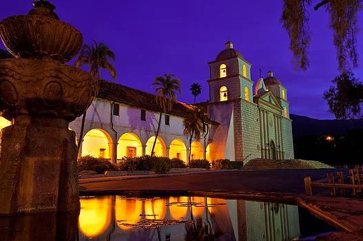 Santa Barbara Mission by Jorge Guerzon