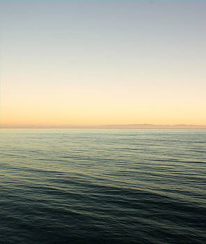 Santa Barbara Sunset over Ocean by Nadra Raquel