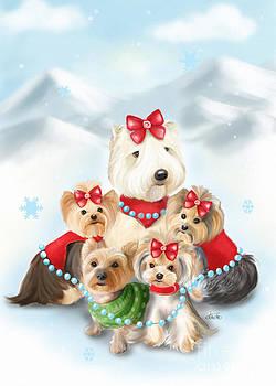 Santa Buddies by Catia Lee