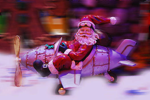 Santa claus is coming to town by Gina Dsgn