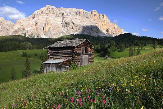 Susan Rovira - Santa Croce and Log Barn