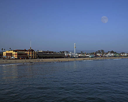 Santa Cruz Beach and Boardwalk by Neal Martin