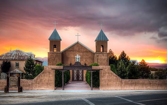 Santa Cruz De La Canada Church by Anna Rumiantseva
