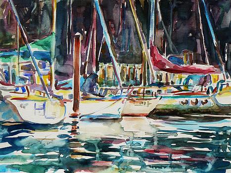 Santa Cruz Dock by Xueling Zou