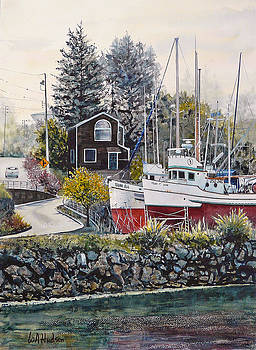 Santa Cruz Dry Dock by Bill Hudson