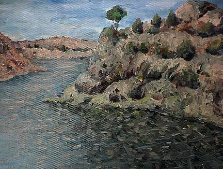 Santa Cruz Lake by Deliara Yesieva