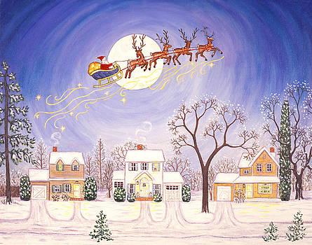 Linda Mears - Santa en Route