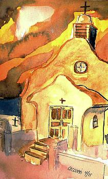 Santa Fe Chapel by Michael  Accorsi
