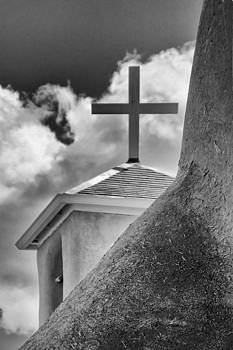 Jan Hagan - Santa Fe Cross and Clouds