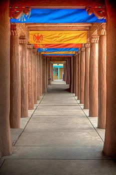 Santa Fe Hallway by Scott Slattery