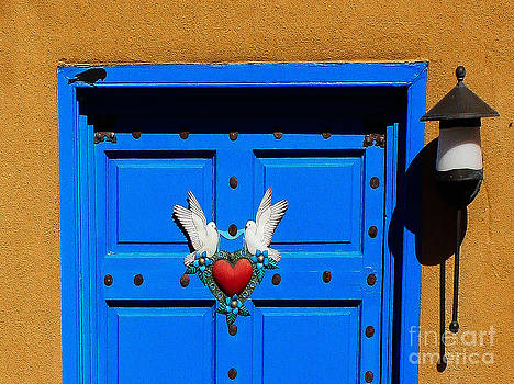 Santa Fe Heart by Nancy Yuskaitis