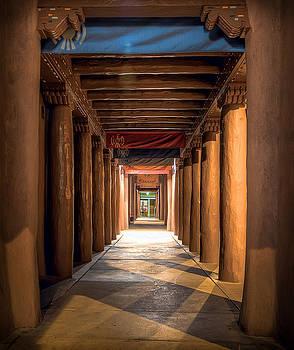 Santa Fe street by Anna Rumiantseva