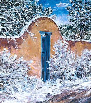 Santa Fe Winter by Steven Boone