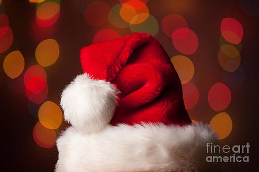 Santa Hat by Sharon Dominick