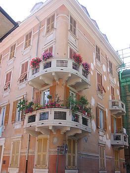 Santa Margherita Building by Leslie Brashear