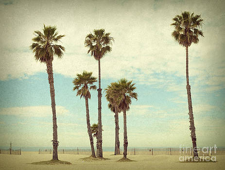 Santa Monica Beach by Stella Levi