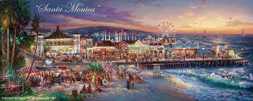 Santa Monica by Cao Yong