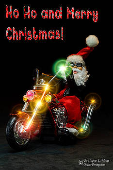 Christopher Holmes - Santa Motoring - Merry Christmas