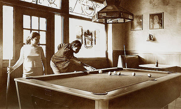Santa rosa Pool Players by Michael Fahey
