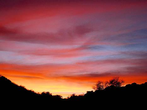 Santa Susana Sundown by Russell Jenkins