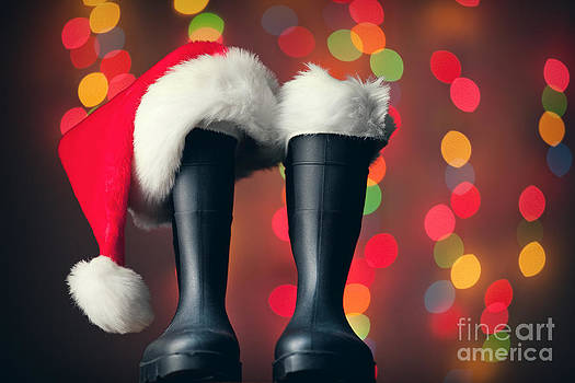 Santa's Boots  by Sharon Dominick