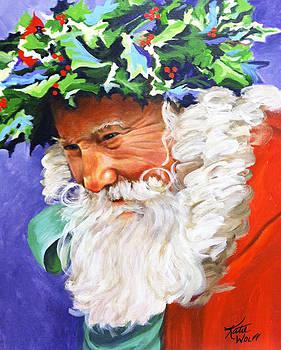 Santa's Dad #2 by Katie Wolff