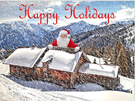 Santa's Home by De Beall