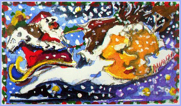Santa's Sleigh by Mindy Newman