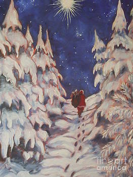 Santa's Trek by Paris Wyatt Llanso
