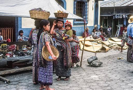 Santiago Atitlan Market 2 by Tina Manley