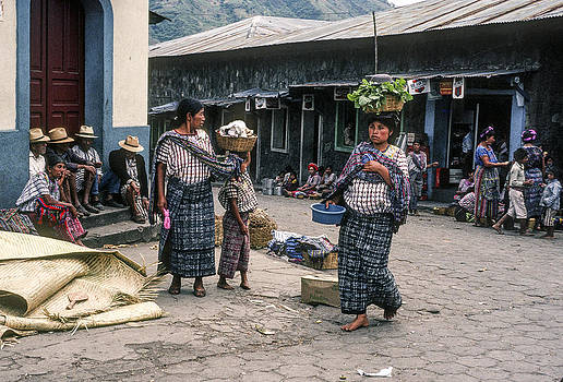 Santiago Atitlan Market by Tina Manley
