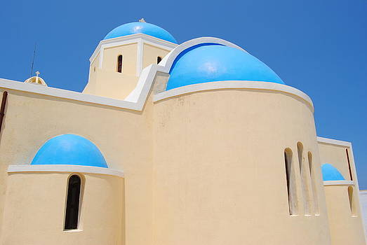 Santorini Church 1 by Andy Rebennack