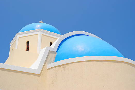 Santorini church 2 by Andy Rebennack