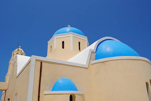 Santorini Church 3 by Andy Rebennack