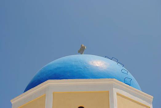 Santorini Church 4 by Andy Rebennack