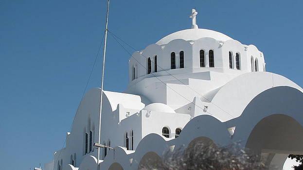 Santorini Greece by Suzy  Godefroy