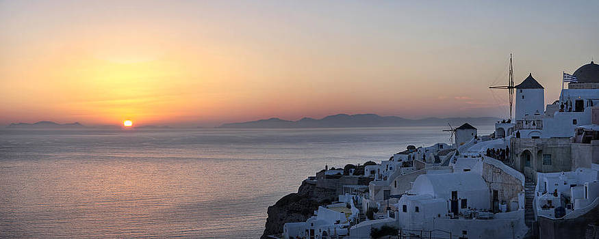 Santorini Sunset by Jack Daulton