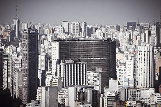 Sao Paulo - Aerial View by Ricardo Lisboa