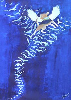 Sapphire Blue by HHolly Bazmi