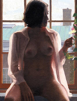 Charles Pompilius - Sara in the Window
