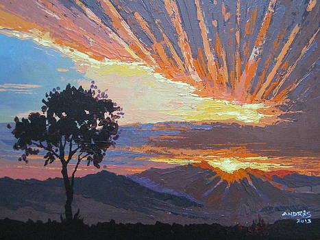 Sardinian Sunrise by Andrei Attila Mezei