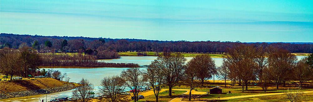 Sardis Upper Lake Panorama by Barry Jones