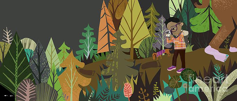Sasquatch Search by Kate Cosgrove