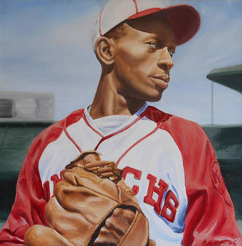 Satchel Paige by Angie Villegas