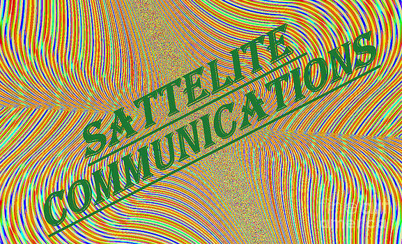 Satellite Communications business sign by Thomas Smith