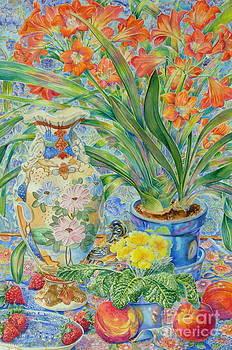 Satsuma Vase by Barbara Timberman