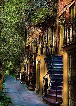 Savannah Brownstone by Cary Shapiro