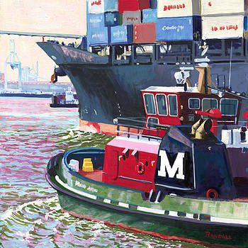 Savannah Tug by David Randall